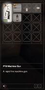 RESIDENT EVIL 7 biohazard P19 Machine Gun inventory
