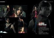 BIOHAZARD RE2 Official Complete Guide Page 006, 007