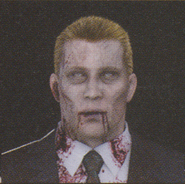 Degeneration Zombie face model 4