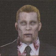 Degeneration Zombie face model 4