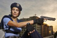 Julia Voth as Jill Valentine 2