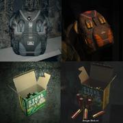 RE7 and RE2make items comparison
