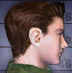 Resident Evil CODE Veronica Battle Game - Chris Redfield mugshot 2