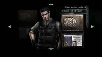 Chris S.T.A.R.S. 2 Character Select