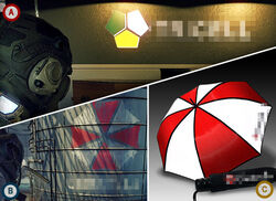 One Click Question - No.5 Which is the Umbrella Corporation's logo?