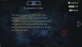 Orden de evacuación