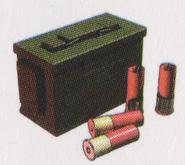 Resident Evil 0 Shotgun Ammo concept art