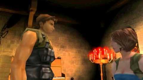 Resident Evil 3 Nemesis cutscenes - Carlos cures Jill (alternate)