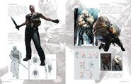 Resident Evil 6 Artworks - Creature Design (13)
