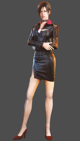 resident evil 6 ada wong face model
