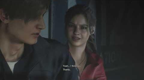 Claire meets Leon