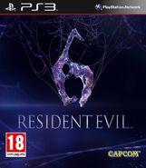 Resident Evil 6 - PS3 cover