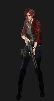 Resident Evil Revelations 2 - Claire Redfield render 02