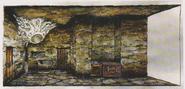 CODE Veronica concept art - Catacombs 1