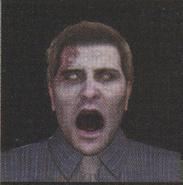 Degeneration Zombie face model 49
