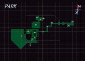 Resident Evil 3 Park Map