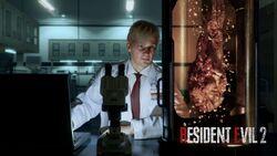 Resident Evil 2 2019 William Birkin Wall paper
