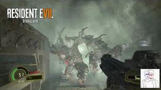 Resident Evil 7 Biohazard - Chris ripped in half death
