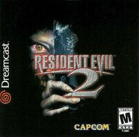 Sega Dreamcast Resident evil