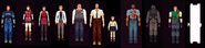 Characters from RE2 - HD