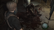 Resident Evil 4 Island Operating theater - Freezer card body