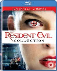 Resident evil blu ray collection