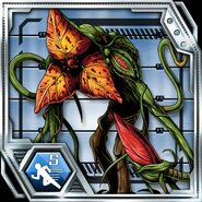 BIOHAZARD Clan Master - BOW card - Plant 43