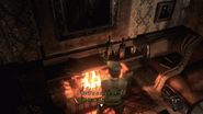 RE1 remake map of the MANSION 2F location