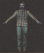 Degeneration Zombie body model 60