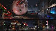 Raccoon streets art