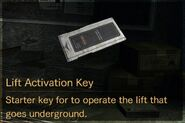 Lift Activation Key description