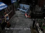 Resident Evil 3 Nemesis screenshot - Uptown - Boulevard examine 06