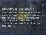 Testamento del Investigador