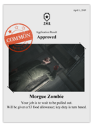 Zombieswanted morgue zombie