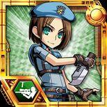 BIOHAZARD Clan Master - Character card - Jill Valentine
