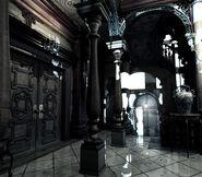 REmake background - Entrance hall - r106 00012