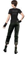 Resident Evil Zero HD Remaster DLC Shirt - Dengeki PlayStation (back)