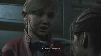 Resident Evil 2 remake all scenes - Claire takes the Joint Plug