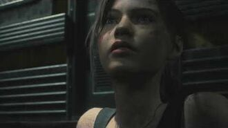 Resident Evil 2 remake all scenes - William appears on the Turntable