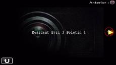 Resident Evil 3 Boletín 1