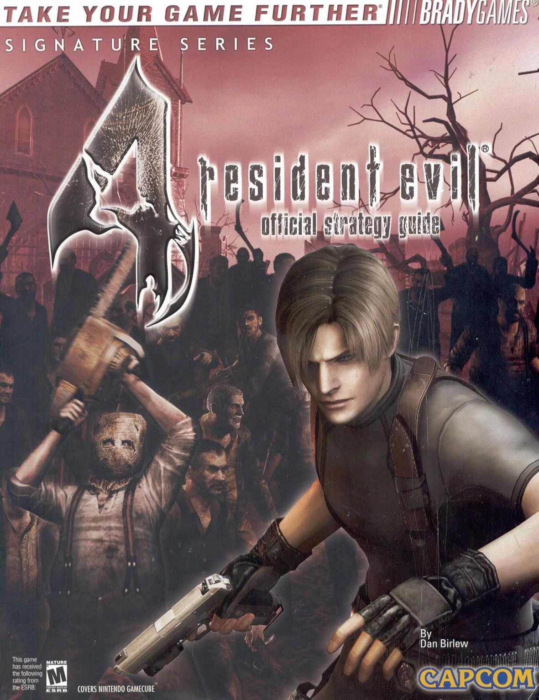 Resident Evil 4 Official Strategy Guide Resident Evil Wiki Fandom