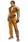 Resident evil outbreak david king artwork concept art (2)