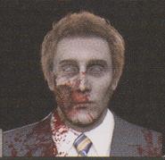 Degeneration Zombie face model 46