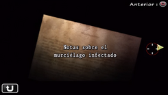 Notas sobre el murciélago infectado