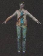 Degeneration Zombie body model 49