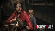 RE2 Remake Steam Pre-Order Bonus Wallpaper 06