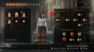 Revelations 2 Raid Mode - Gina menu 1