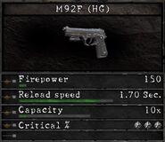 RESIDENT EVIL5 M92F IM