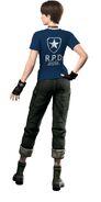 Resident Evil Zero HD Remaster DLC Shirt - Weekly Famitsu RPD (back)