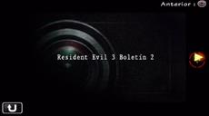 Resident Evil 3 Boletín 2